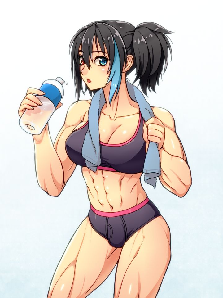 Muscle girl hentai giant muscle
