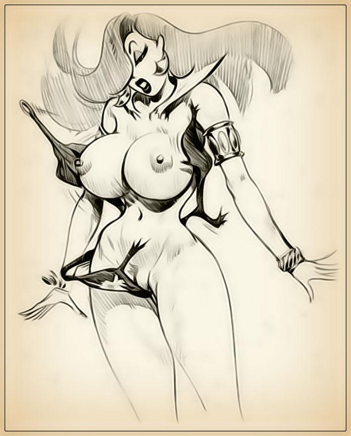I draw porn jessica rabbit